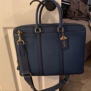 Coach briefcase, brand new